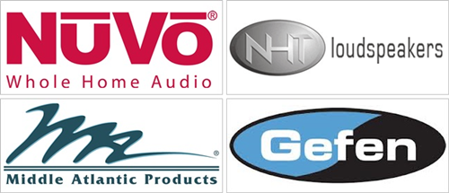 nuvo home audio, nht loudspeakers, mid atlantic advanced security products, gefen software